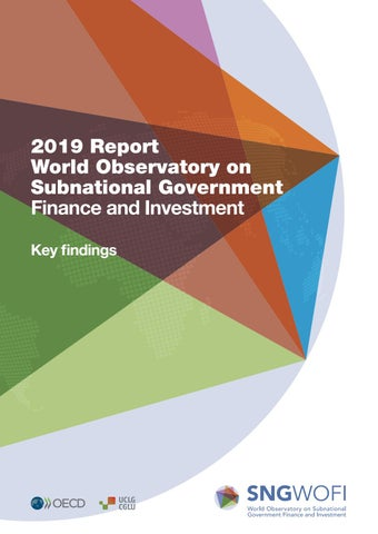 2019 Report - World Observatory on Subnational Government