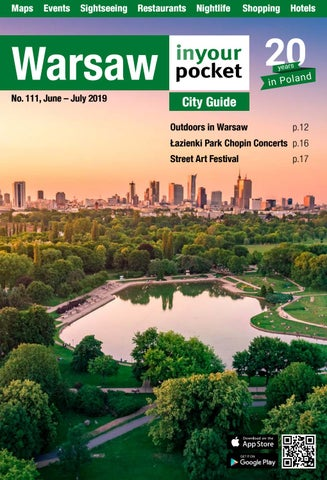 Warsaw In Your Pocket June July 2019 By Poland In Your