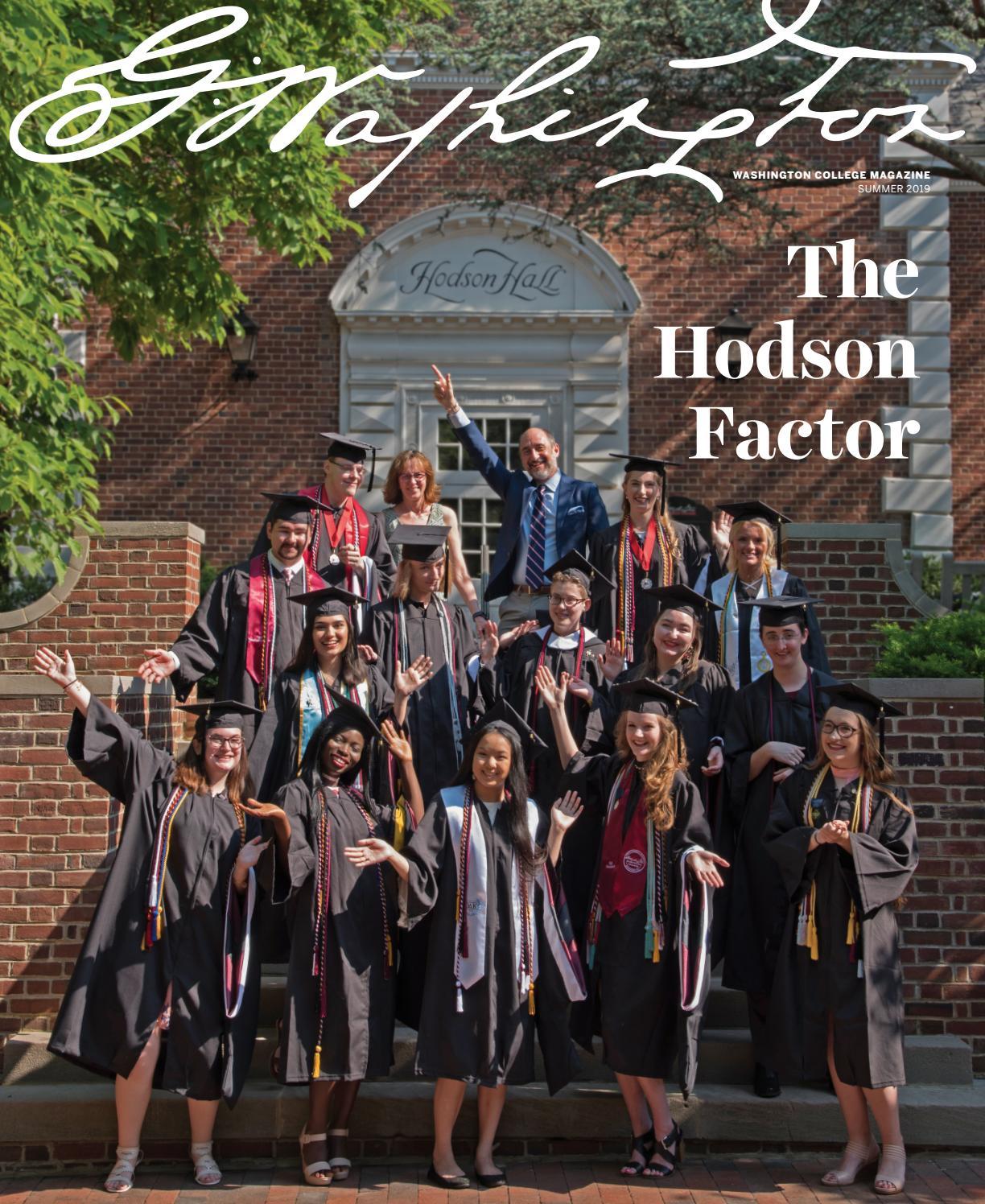Washington College Magazine Summer 2019 by Washington