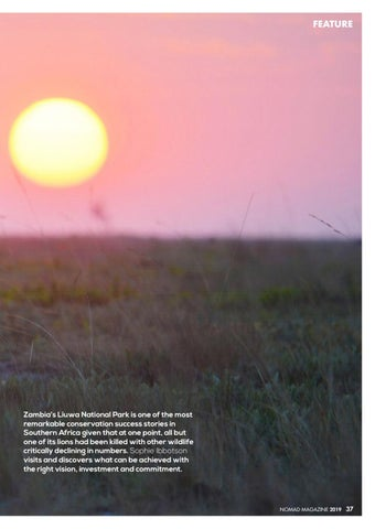 Page 39 of Back From the Brink: Liuwa Plain National Park