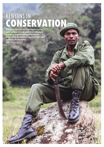Page 42 of Kenyans in Conservation