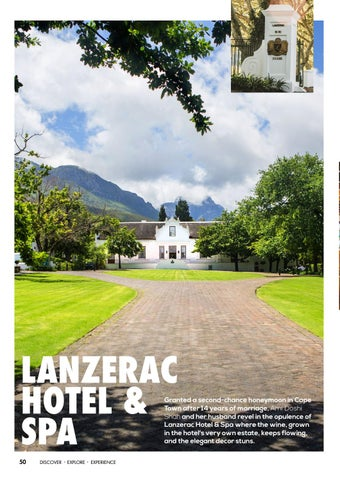 Page 52 of Great Hotels: Lanzerac Hotel