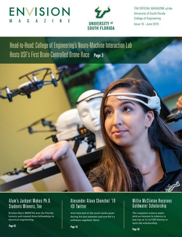 Page 1 of USF's First Brain-Controlled Drone Race