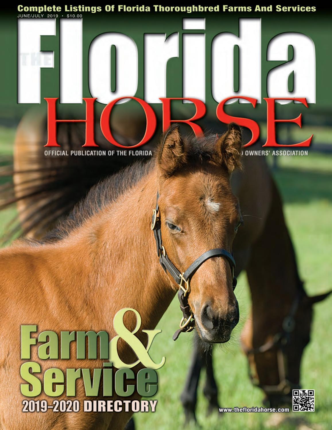 Florida Horse 2019 Farm & Service Directory by Florida