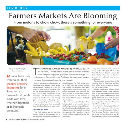 Page 6 of Farmers Markets Are Blooming