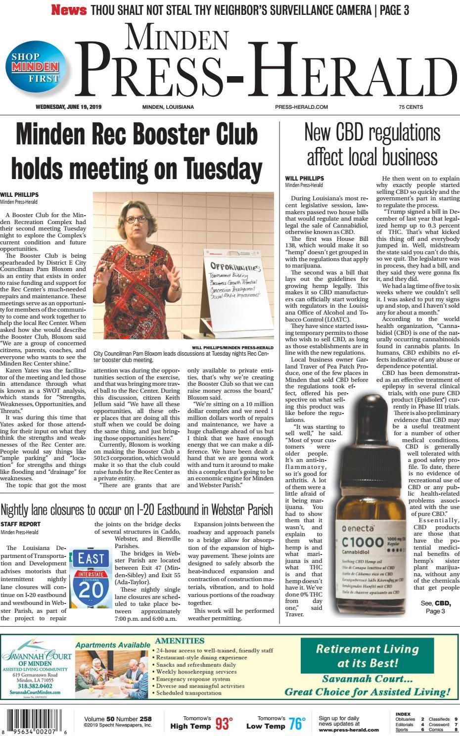 Minden Press-Herald E-Edition 06-19-2019 by Minden Press-Herald - issuu