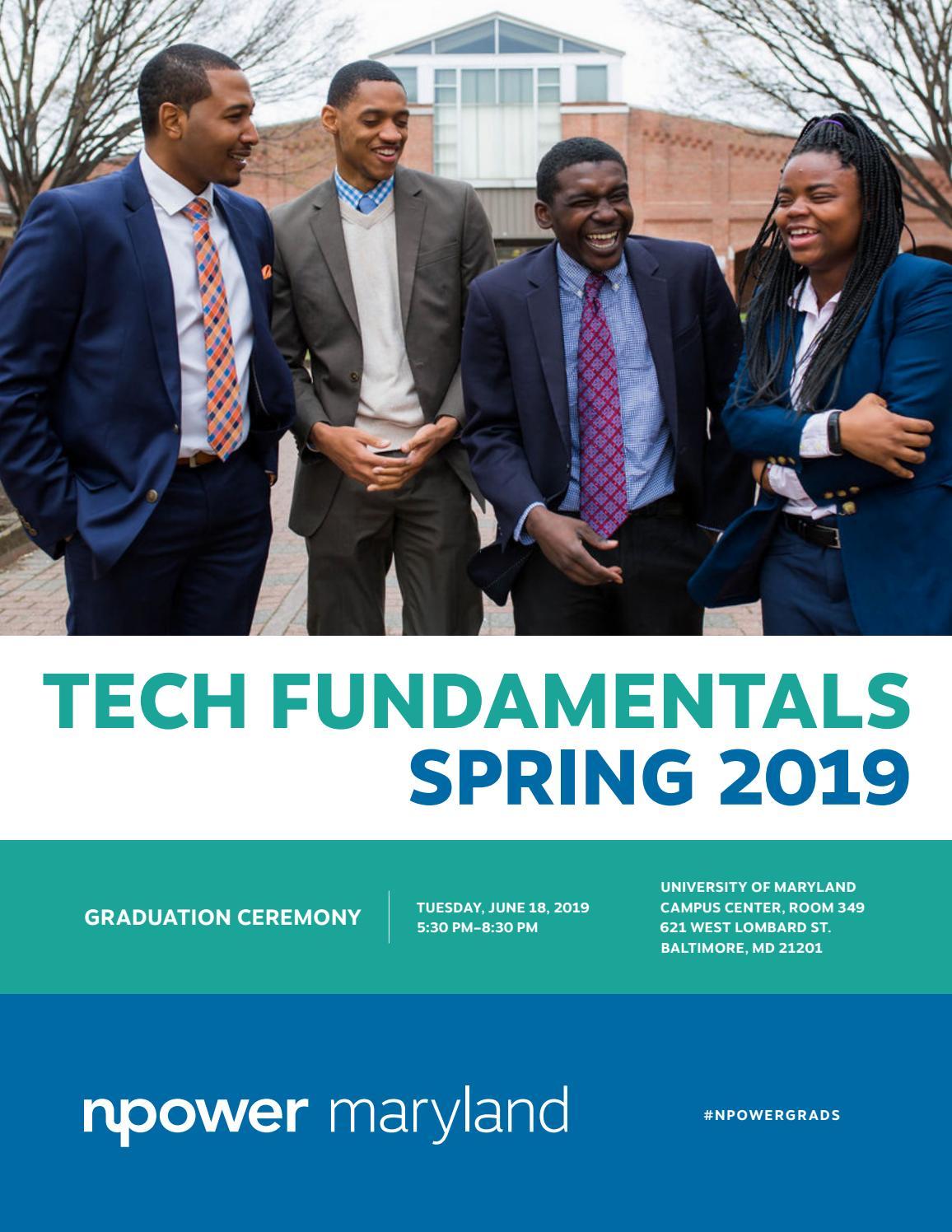 NPower Maryland Tech Fundamentals Spring 2019 by NPower - issuu