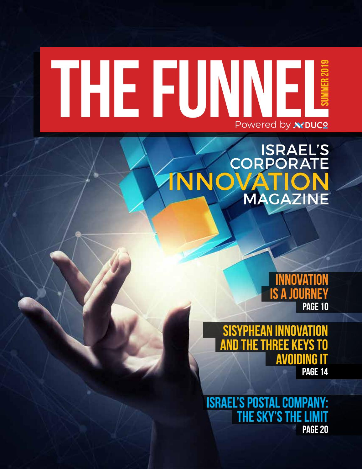 The Funnel Corporate Innovation Magazine 6th Edition Summer 2019 By The Funnel Global Issuu
