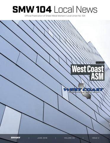 Smw 104 Local News June 2019 By Sheet Metal Local 104 Issuu