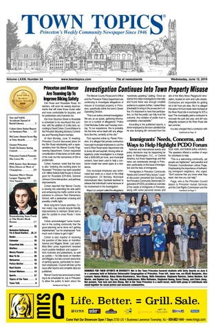 Town Topics Newspaper, June 12 2019 by Witherspoon Media Group - issuu