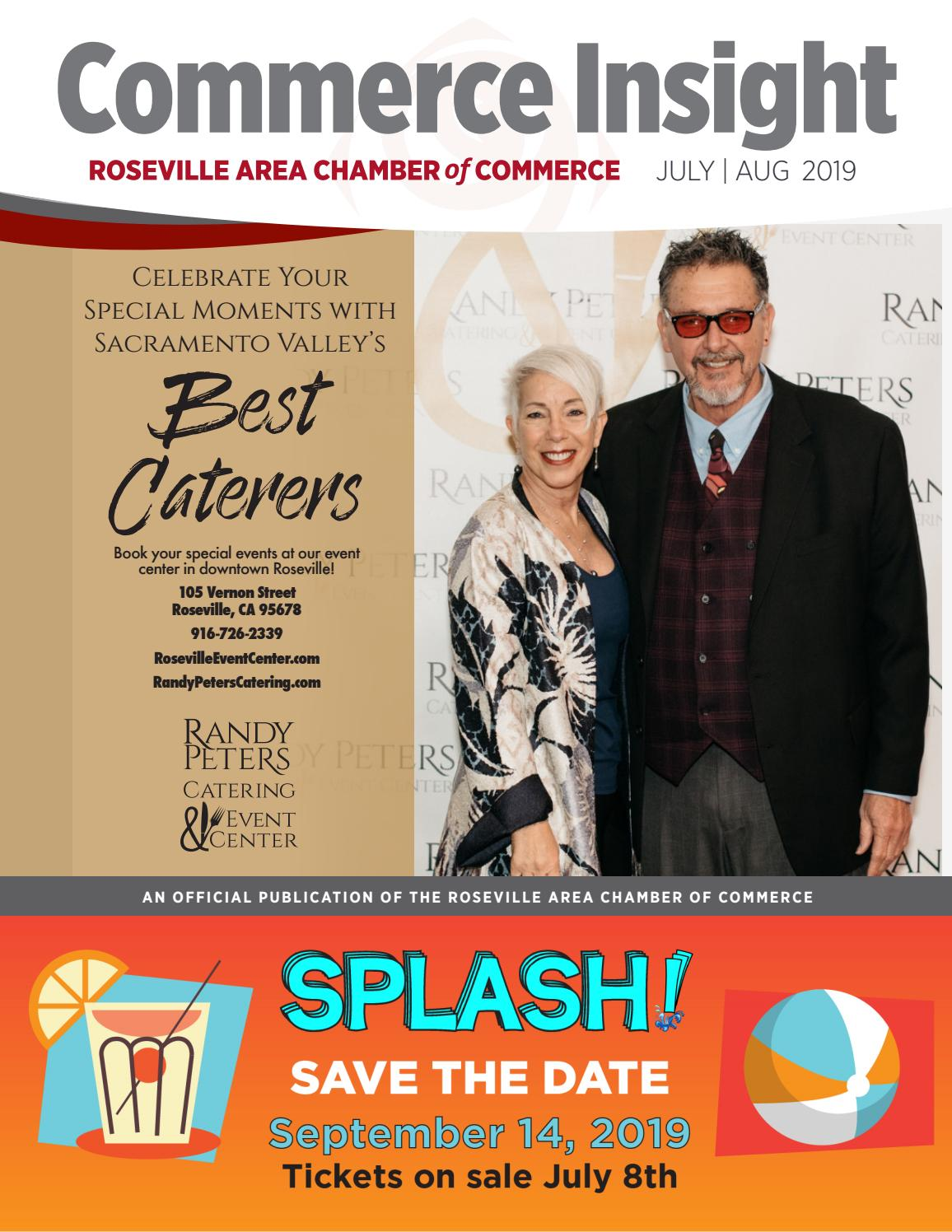 Fountains Roseville Events 2020.July August 2019 Commerce Insight By Roseville Area