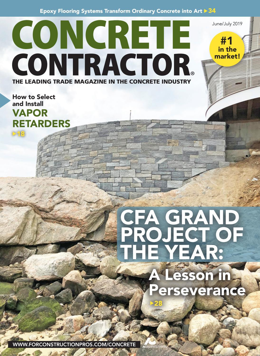 Concrete Contractor June/July 2019 by ForConstructionPros