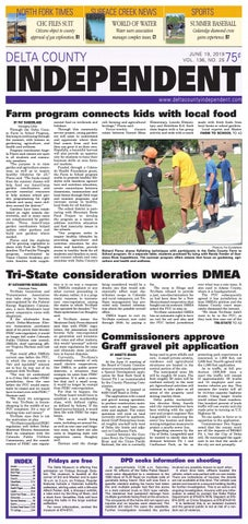 Delta County Independent, June 19, 2019 by Delta County