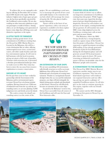 Page 15 of Ocean Cay and MSC Cruises'  Commitment to Caribbean Cruising