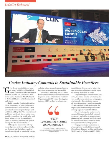 Page 16 of Cruise Industry Commits to Sustainable Practices