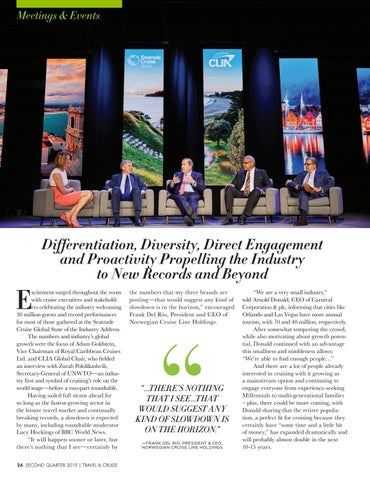 Page 26 of Differentiation, Diversity, Direct Engagement and Proactivity Propelling the Industry to New Records and Beyond