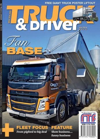 NZ Truck & Driver Magazine July 2019 by NZ Truck & Driver