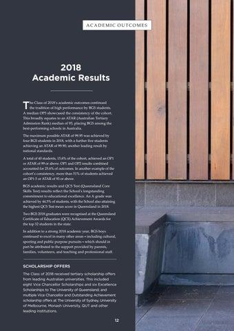 Page 12 of 2018 Brisbane Grammar School Academic Results