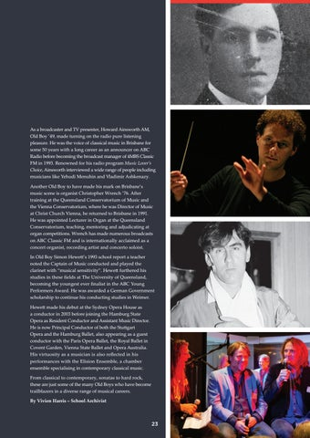 Page 23 of Hitting the right note - musical diversity at BGS