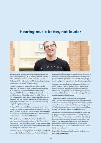Page 29 of Hearing music better not louder