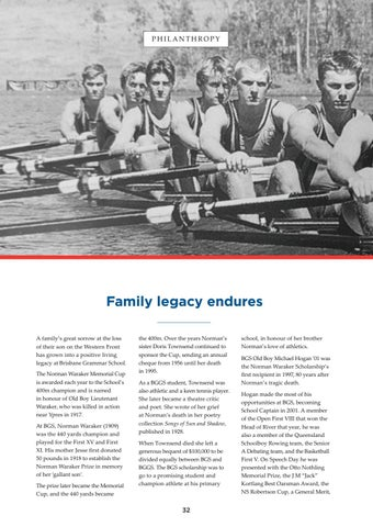Page 32 of Family legacy endures