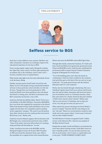 Page 34 of Selfless service to Brisbane Grammar School