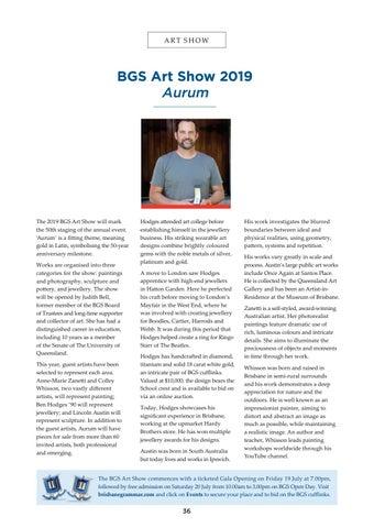 Page 36 of BGS Art Show 2019 - Aurum
