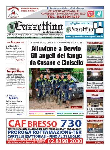 23_Gazzettino_20_6_19 by Il Gazzettino di Sesto San Giovanni ...