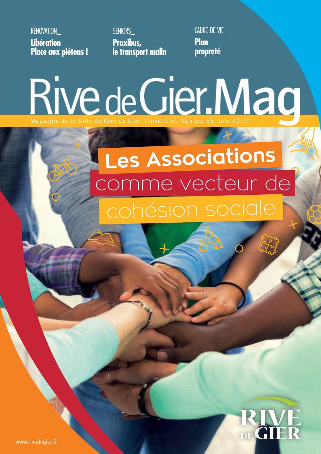 Riv Mag Juin 2019 By Ville De Rive De Gier Issuu