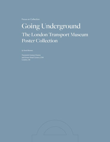 Page 40 of Focus on Collection - Going Underground The London Transport Museum Poster Collection