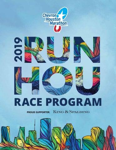 2019 Houston Marathon Program by Kelli L - issuu