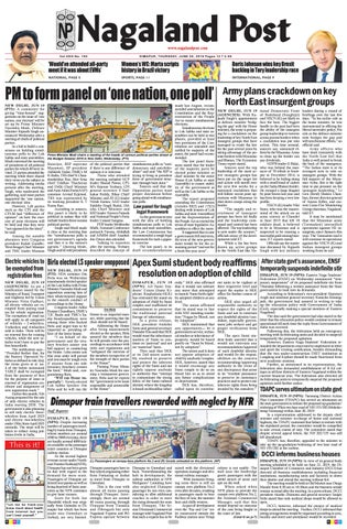June 20, 2019 by Nagaland Post - issuu