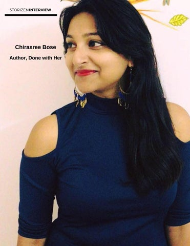 Page 36 of Interviewing Chirasree Bose, Author - Done with Her