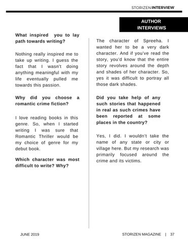 Page 37 of Interviewing Chirasree Bose, Author - Done with Her
