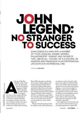 Page 37 of John Legend: No Strangers to Success