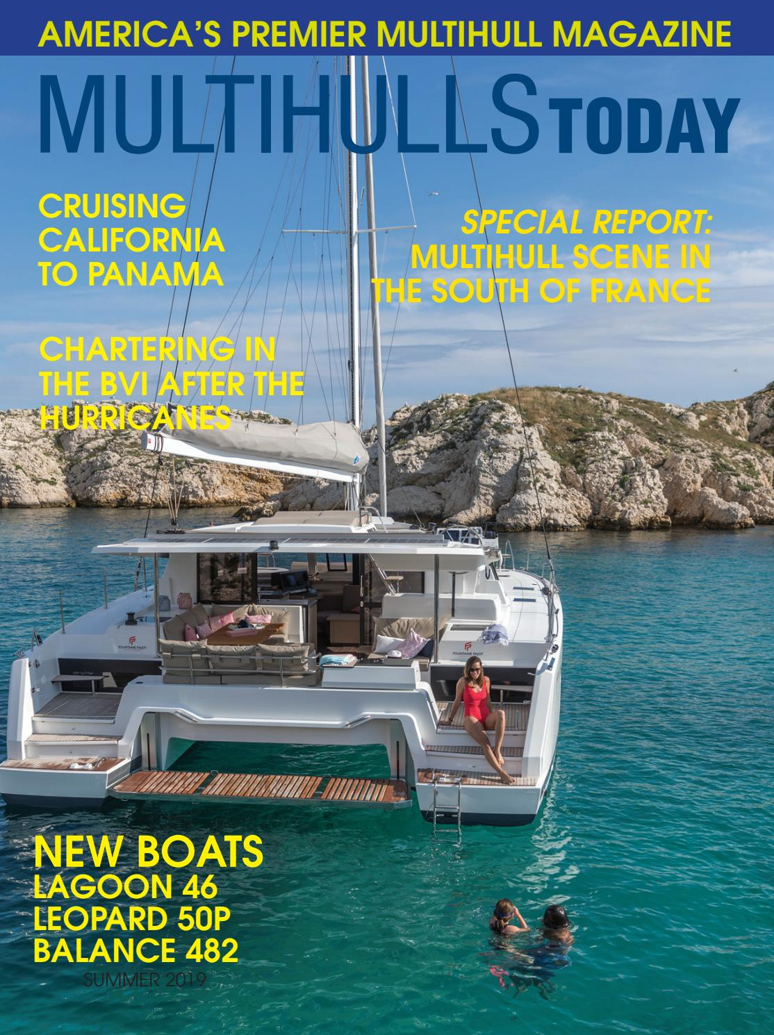Multihulls Today Summer 2019 by Blue Water Sailing - issuu