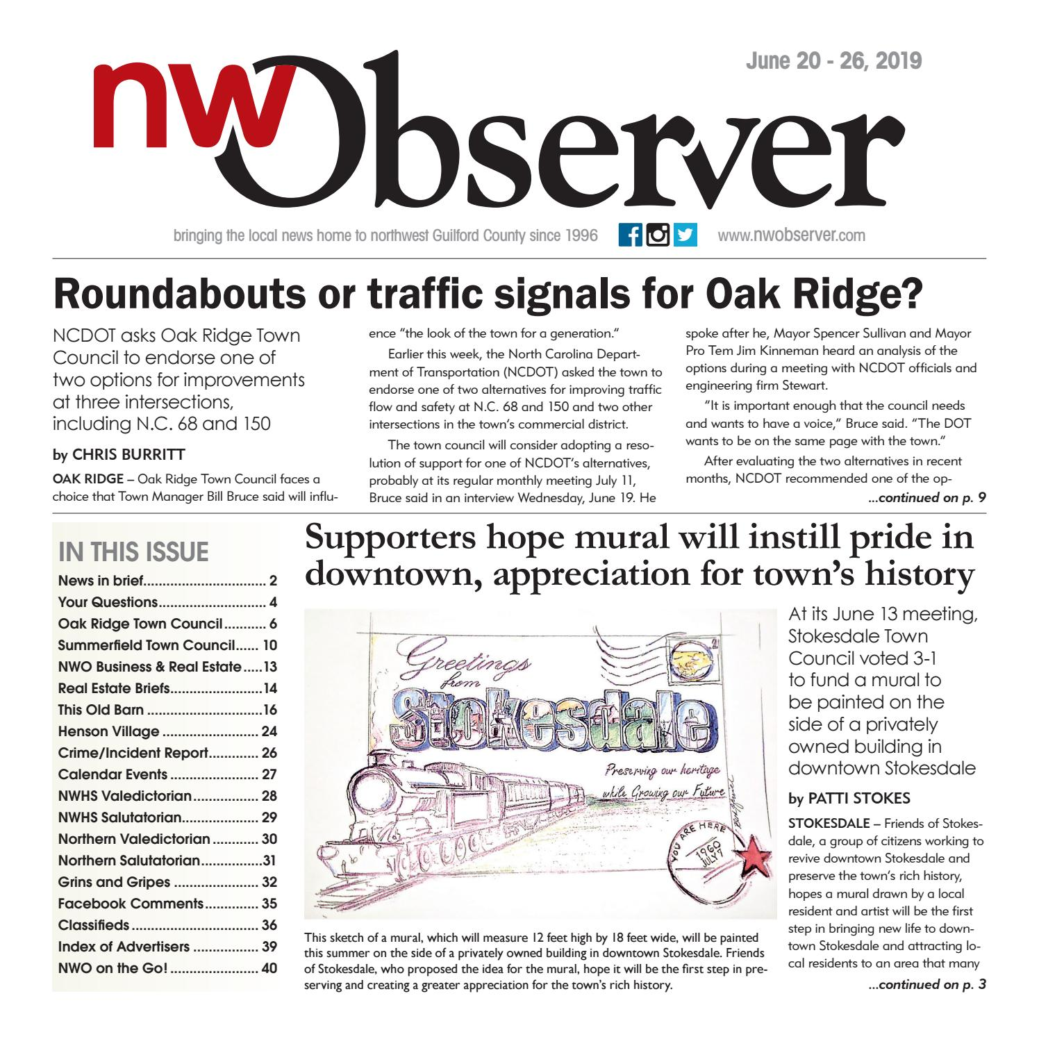 Northwest Observer l June 20-26, 2019 by pscommunications
