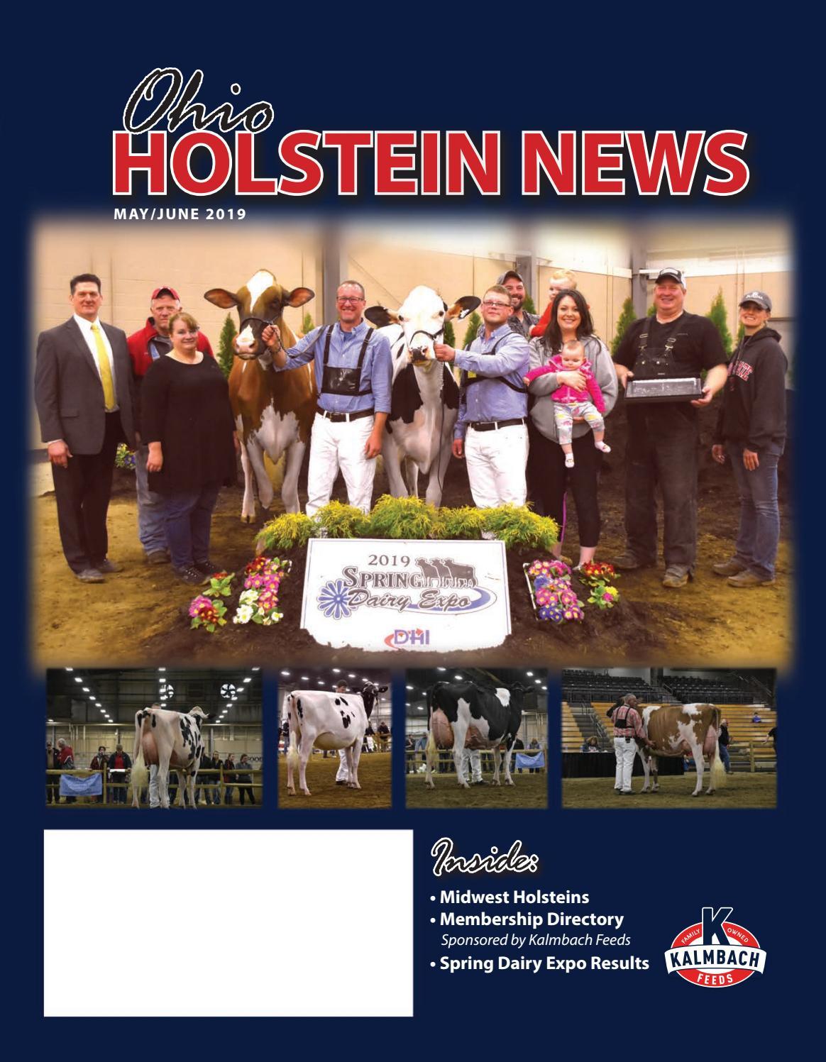 Ohio Holstein News by Dairy Agenda Today - issuu