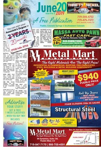 Thrifty Nickel (24 Pages) 6-20-19 by Thrifty Nickel Pueblo - issuu