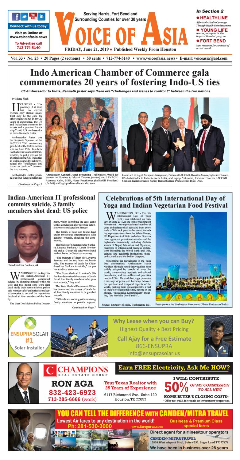 VOA E - Paper 06-21-19 by VoiceOf Asia - issuu