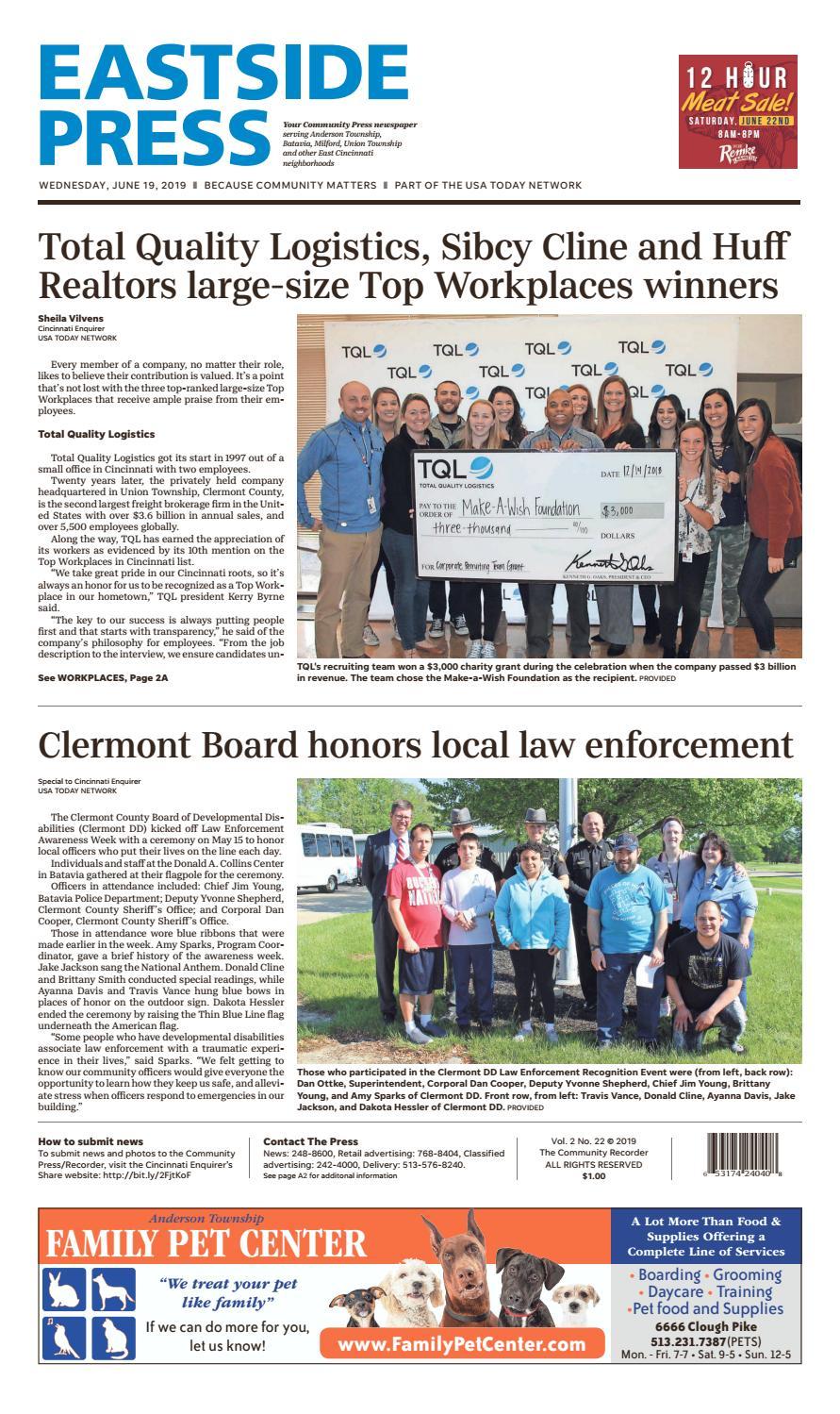 Eastside Press 06/19/19 by Enquirer Media - issuu