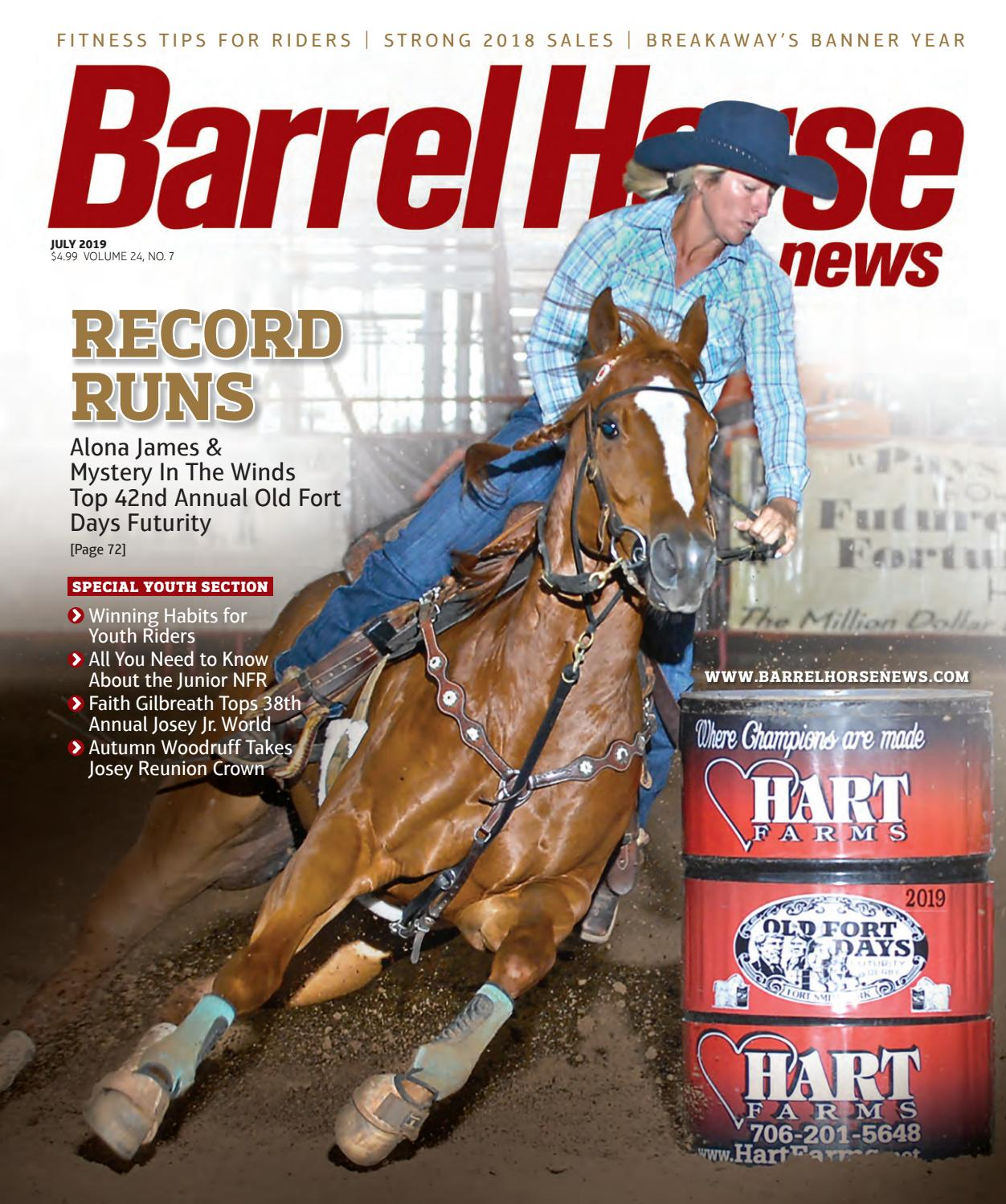 Barrel Horse News July 2019 by Cowboy Publishing Group - issuu