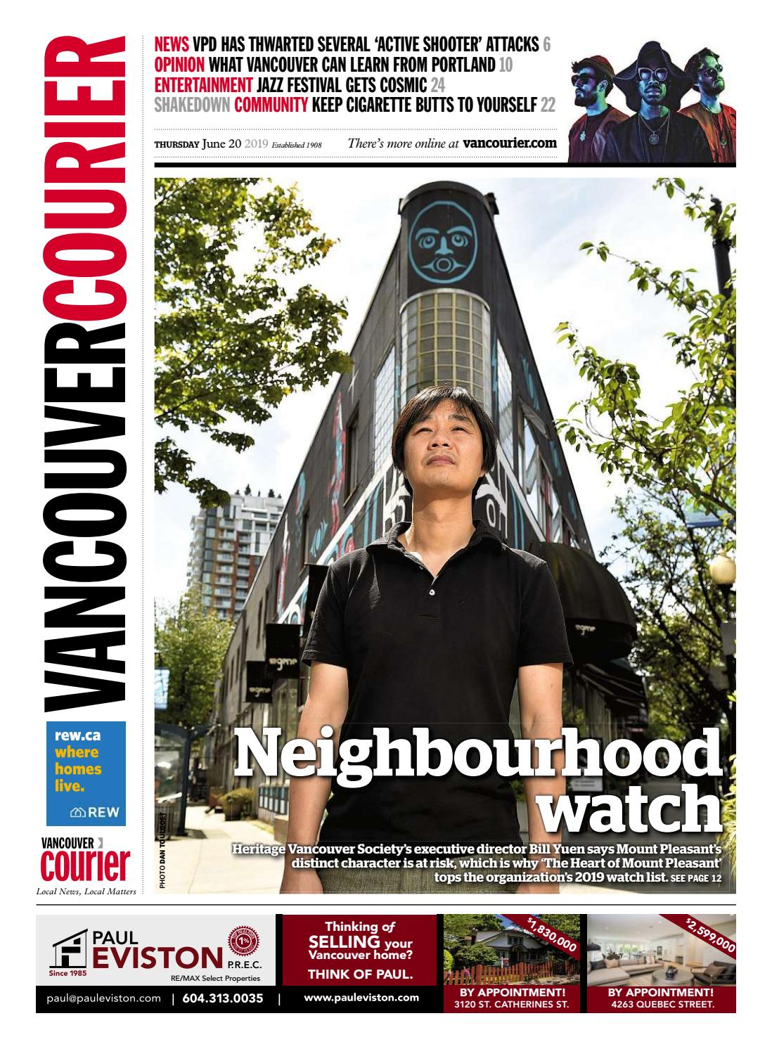 Vancouver Courier June 20 2019 by Vancouver Courier - issuu
