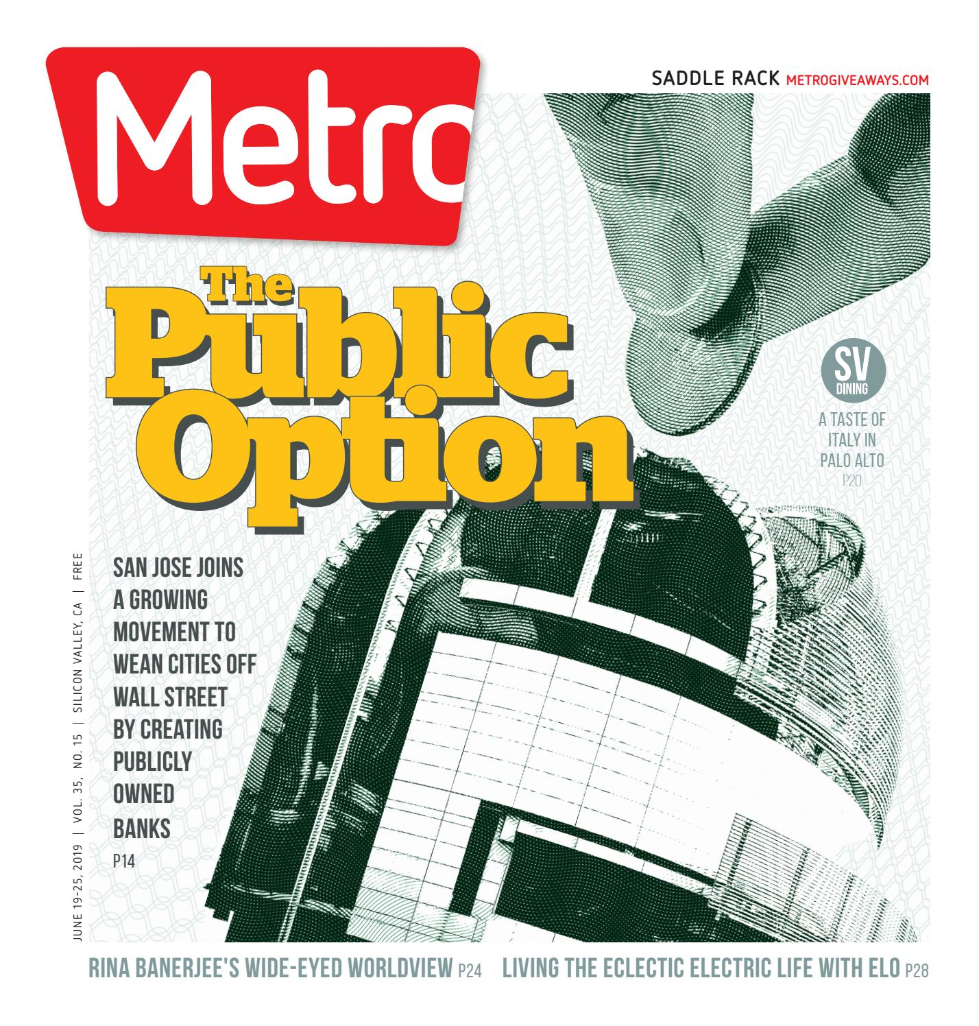 Metro Silicon Valley June 19-25, 2019 by Metro Publishing