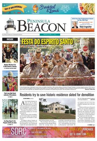 Calendario Fgi 2020.The Peninsula Beacon June 21st 2019 By San Diego Community