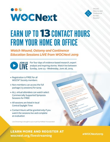 Page 2 of Live Stream WOCNext 2019