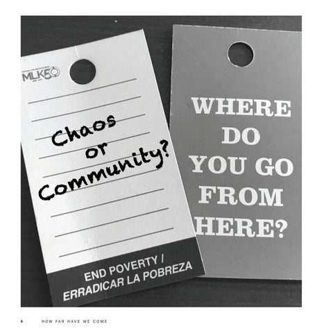 Page 6 of Where Do We Go From Here? Chaos or Community
