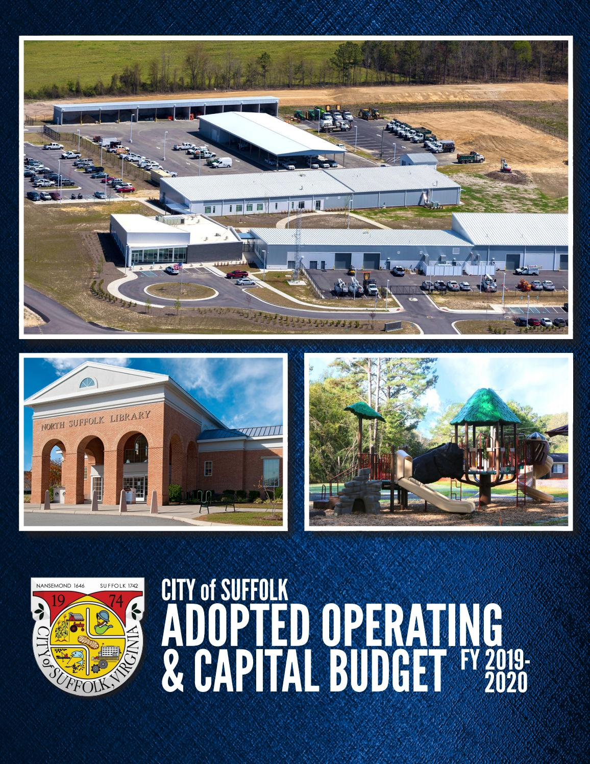 Adopted FY20 Operating and Capital Budget by City of Suffolk ... on