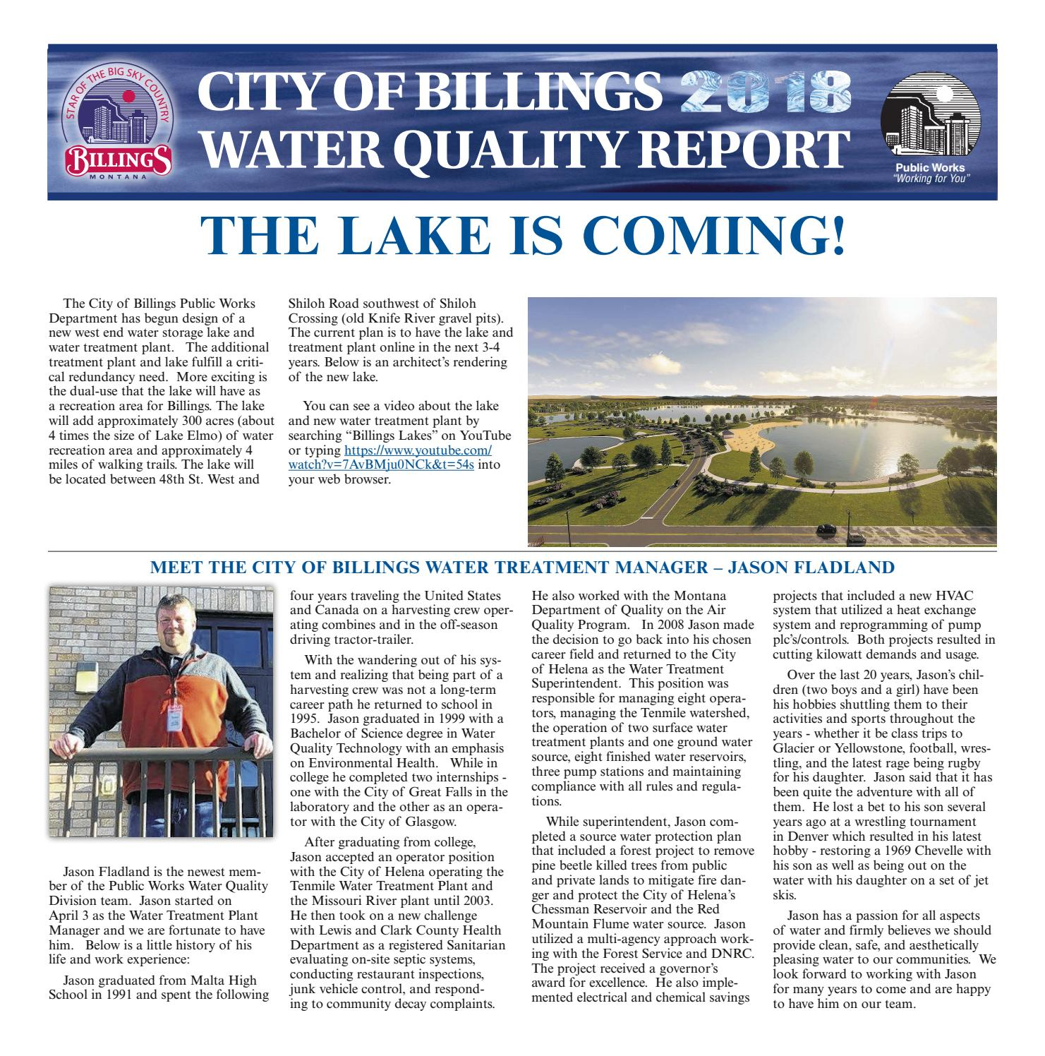 city of billings water