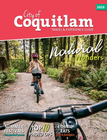2019 City of Coquitlam Travel and Experience Guide by City
